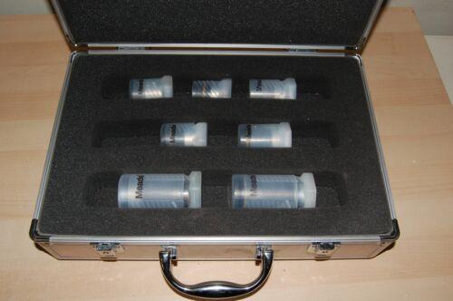 "7 Meade Series 4000 1.25"" Super Plossl Eyepiece Set w/ Case"