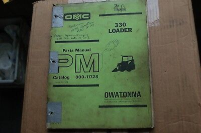 Mustang 330 Skid Steer Loader Parts Manual Book Catalog List Spare Front End Oem