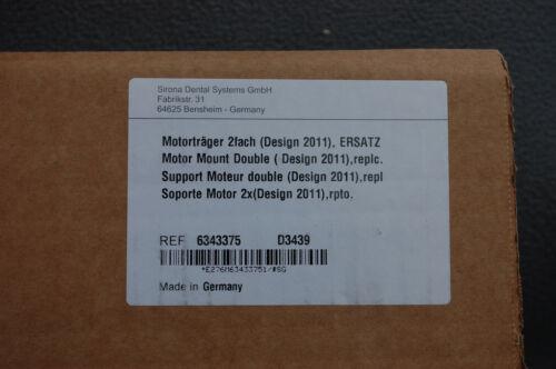SIRONA CEREC MC MCX MCXL MILLING UNIT INLAB DOUBLE MOTOR MOUNT 6343375