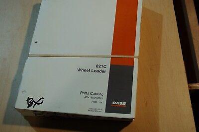 Case 821c Front End Wheel Loader Spare Parts Manual Book Catalog 2003 2004 2005