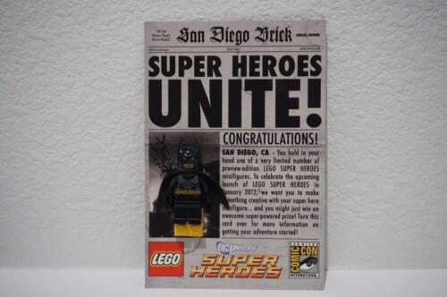 LEGO SDCC SAN DIEGO COMIC CON 2011 BATMAN DC SUPER HEROES NEW NYCC