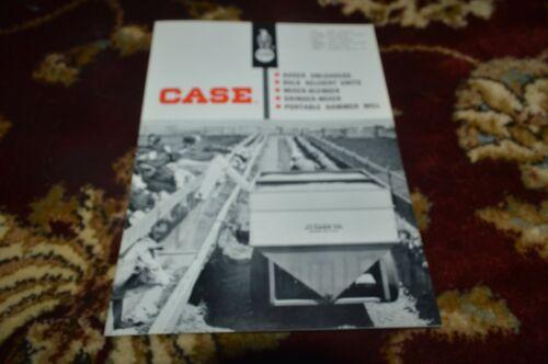 Case Tractor Augers Unloaders Grinder Mixers Hammer Mills  Brochure FCCA
