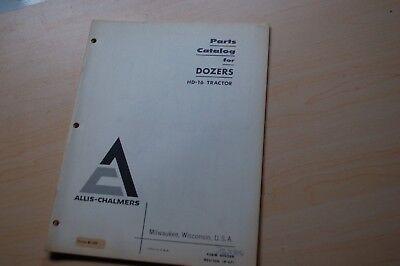 Allis Chalmers Hd-16 Tractor Dozer Crawler Parts Manual List Catalog Spare 1967
