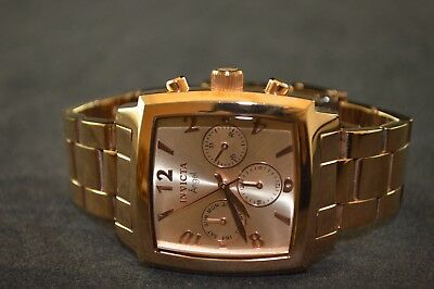 Invicta Angel Rose Gold Stainless Steel Ladies Watch 12102