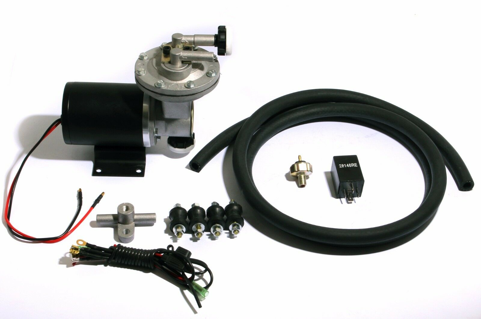 how to set up a vacuum pump