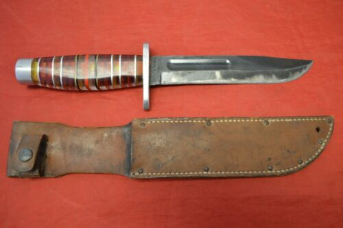 Robeson Shuredge USMC Knife with Sheath
