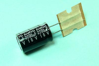 Replacing for 6.3V 5 PCS SANYO CAPACITOR AL 1200UF 1200MF 10V RADIAL