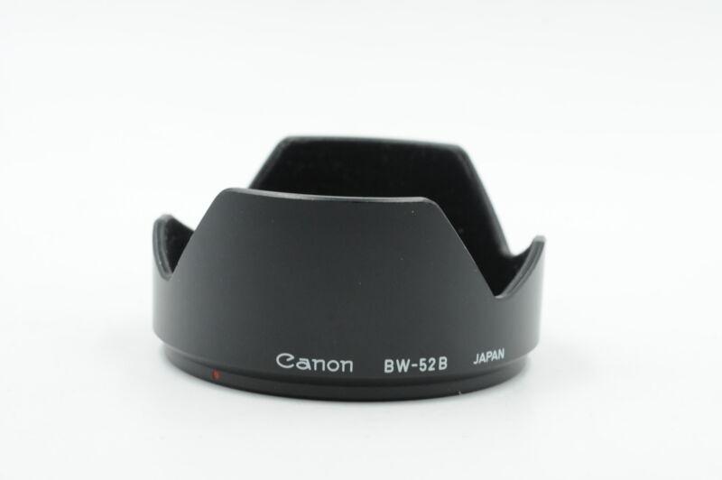 Canon FD BW-52B Hood Shade 52mm #933