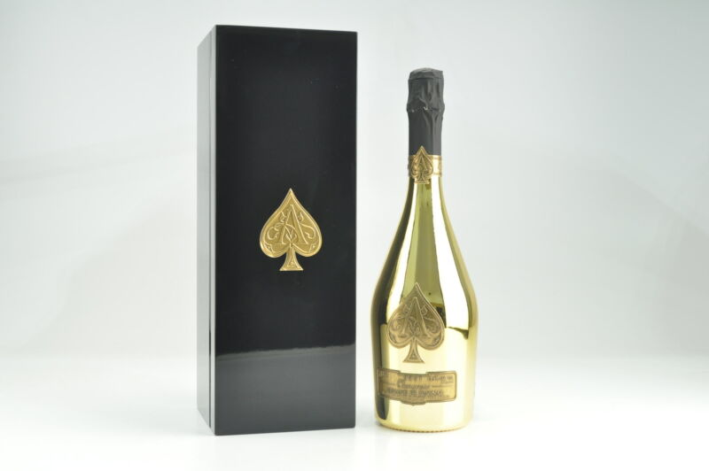 N/V Armand de Brignac Ace of Spades Gold Brut, Champagne Gift Pack JD--95