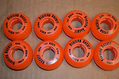 8 Pro GOALIE Outdoor inline wheels 47mm 84a brand new.  REVISION HYPER LABEDA