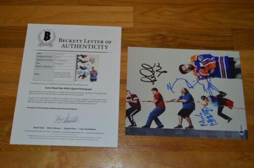Comic Book Men ~ Entire Cast ( 4 ) Autographed 8x10 Color Photo with Beckett LOA