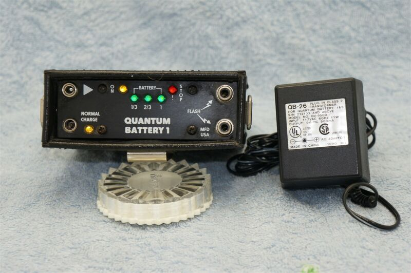 Quantum Battery 1 with NEW CELLS and QB-26 AC Charger