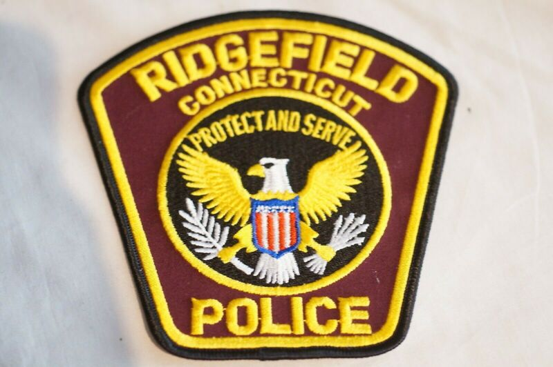 US Ridgefield Connecticut Police Patch