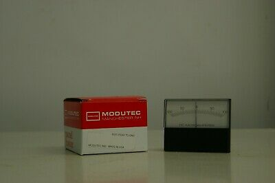 Modutecjewel 3s-dua-1h1-4 Microamperes Dc Panel Meter 100-0-100