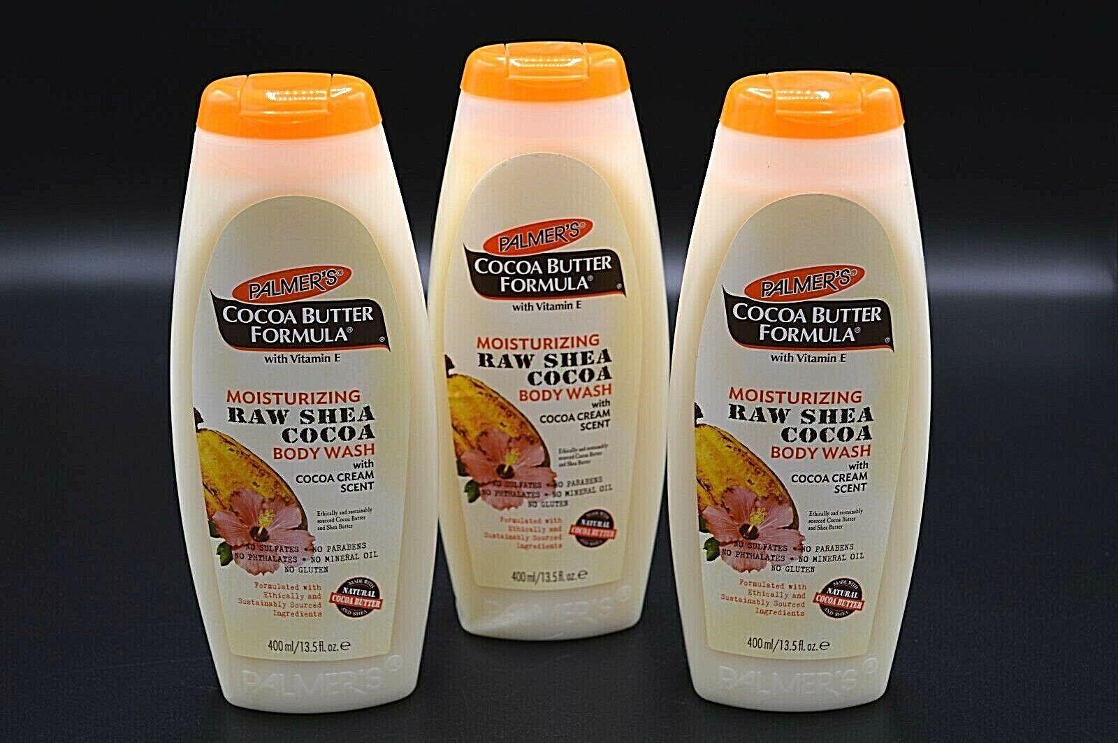Cocoa Butter Formula, Moisturizing Raw Shea Cocoa Body Wash