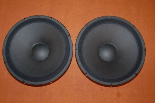 "Selenium 15PW3 15"" Woofer Pair  Great for Open Baffle Speakers"