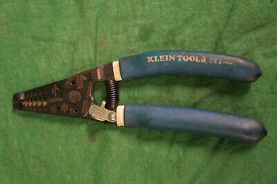 Klein Tools 11054 Wire Stripper Cutter Tool Blue Grip