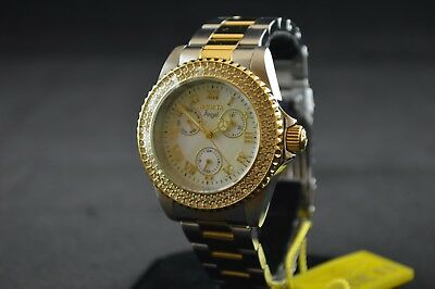 Invicta Angel Silver Stainless Steel Chronograph Ladies Watch 17437