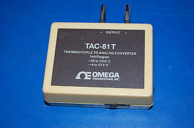 Omega Tac-81t Thermocouple To Analog Converter