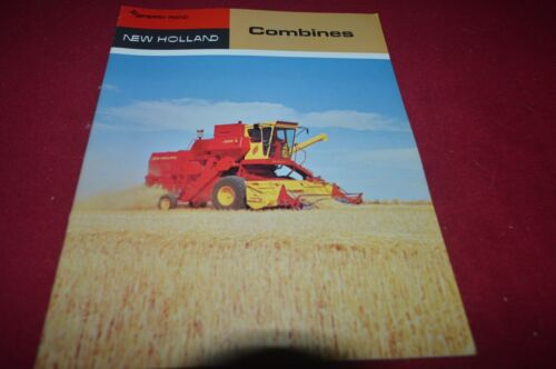 New Holland 975 985 995 Combine For 1970 Dealers Brochure RCOH