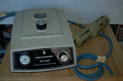 Beckman Coulter Air Ultracentrifuge Mdl Airfuge Air-driven Unit
