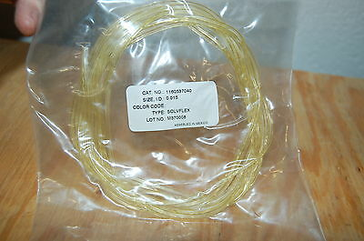 Solvflex Tubing Elkay Peristaltic Pump Tube 0.015 Id 1180537040 Solv-flex