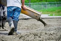 Looking for a Labourer with cement experience.