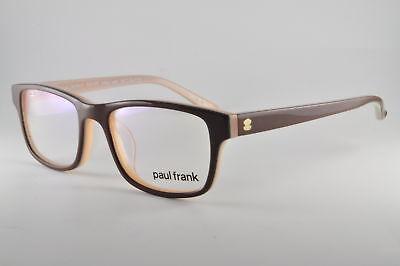 Paul Frank Eyeglasses RX125 Pixel Perfect Chocolate Seafoam, Size 48-16-130
