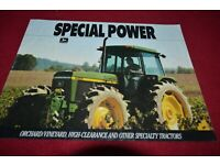 Ford 3000 Narrow Tractor Dealer/'s Brochure LCPA3 ver2