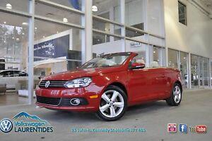 2012 Volkswagen Eos Comfortline*DSG*TURBO*CUIR BEIGE*BLUETOOTH*