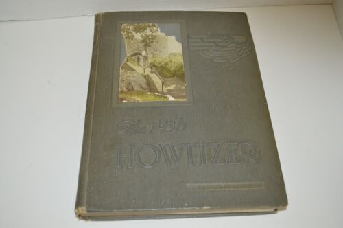 Vintage 1936 United States Military Academy West Point Howitzwer Annual Yearbook