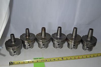 Lot 6 Haimer Hsk100 Machine Tool Holders 6mm 8mm -10mm - 12mm - 16mm Shrink Fit
