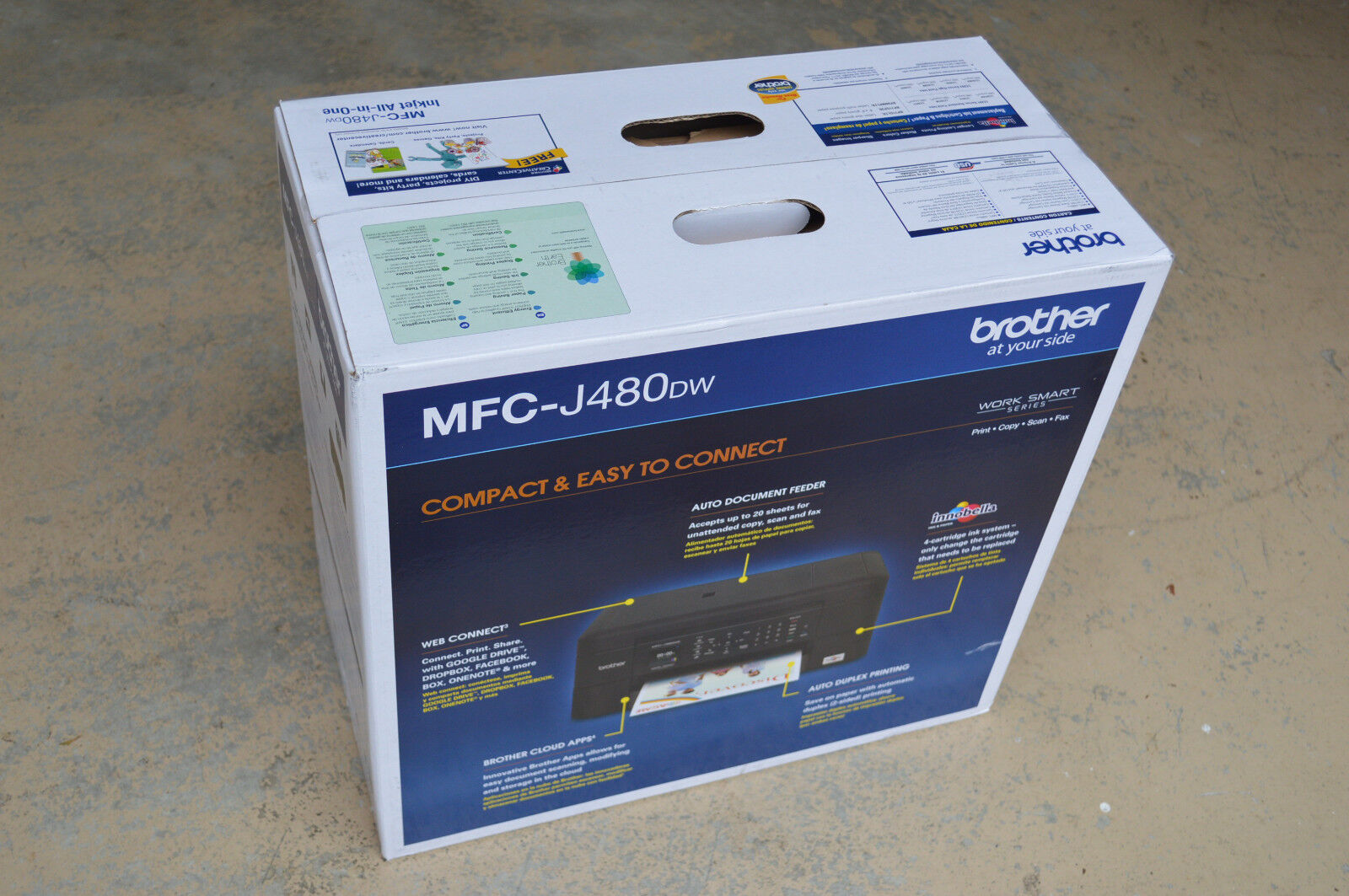 Brother MFC-J480dw Wireless Color Inkjet All-In-One Printer Local Pickup Only