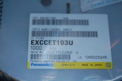 Exc-cet103u - Panasonic Lot Of 100 Pcs