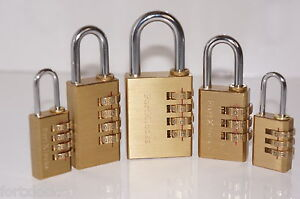 Fortxlocks-resettable-Brass-combination-padlock-luggage-toolbox-cupboard