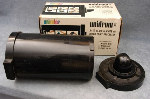 UNIDRUM II COLOR AND BLACK & WHITE PRINT PROCESSOR - FREE USA SHIPPING