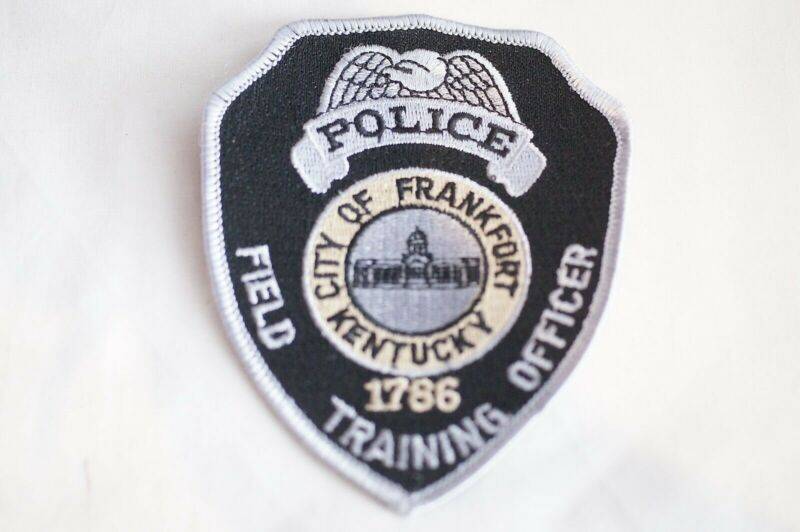 US City of Frankfort Field Training Officer Kentucky Police Patch 3