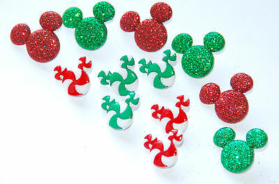 Holiday Candies / Disney Collection ~  Dress It Up Buttons / Mickey  - Disney Holiday Clothes