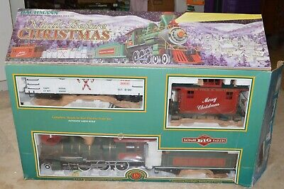 G scale Bachmann North Pole & Southern RR Holiday Christmas train set