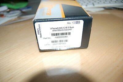 Waters Xterra Ms C18 Column 3.5m 4.6 X 150mm Hplc New 186000440