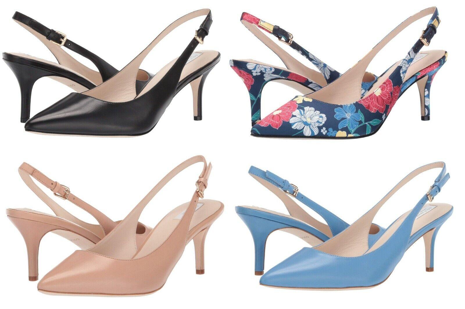 Cole Haan Women Vesta Slingback Pump 65 mm Stiletto Heels Casual Dress Shoes