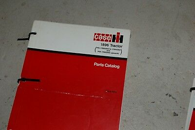Case Ih 1896 Tractor Spare Parts Manual Book Catalog Farm List 1987 8-4330 Owner