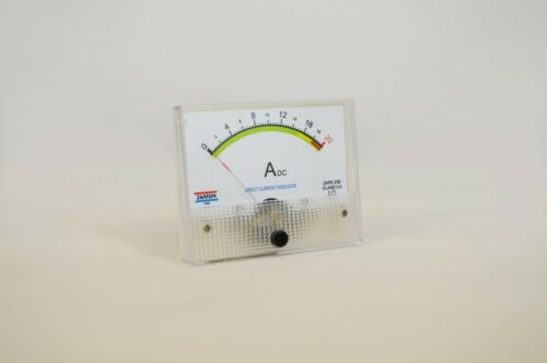 20 AMP DC AMPER PANEL METER CLASS 0.5 - NO NEED SHUNT - MADE IN USA
