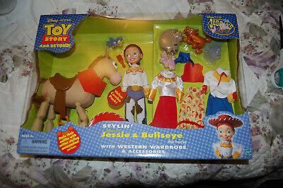 Jessie Toy Story Accessories (Disney Toy Story Stylin' Jessie and Bullseye Western Wardrobe and)