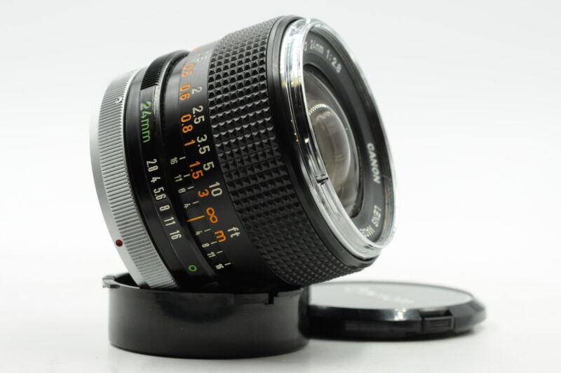Canon 24mm F2.8 FD BL Lens 24/2.8 #636