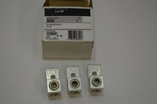 NEW GE General Electric CKX02 Accessory Lug Kit CK Contactors 6-350 MCM Wire