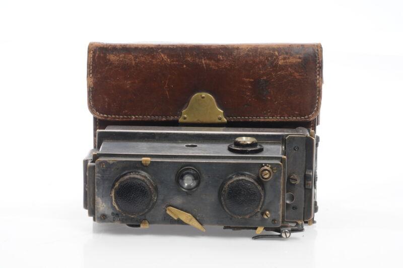 Richard Jules Verascope Stereo Camera (c.1920s) #108