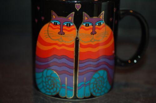 Laurel Burch Rainbow Cats Mug