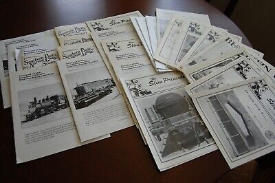 Southern Pacific Narrow Gauge Society Newsletter, 42 Issues, 1983-2010, HOn3/Sn3