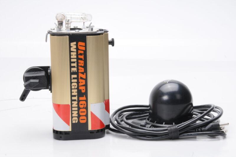 White Lightning UltraZap 1600 Monolight Strobe Light #700
